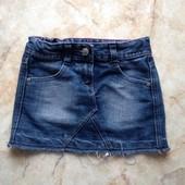 Джинсовая юбка фирмы George на возраст 4-5 лет