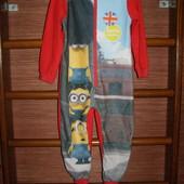 Пижама флисовая, мальчику на 4-5 лет, рост до 110 см,George