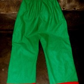 Маскарадные штаны длина 78см