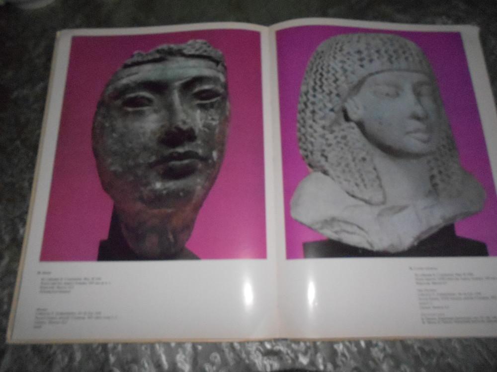 Книга. египетское искусство в гос. музее изобр. искусств, на 2-языках- русский и англ. 1971 г фото №5