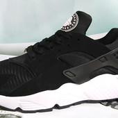 Кроссовки Nike Huarache black white