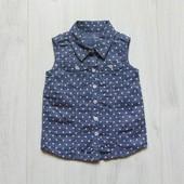 Стильная блуза для маленькой модницы. Y.D. Размер 9-12 месяцев. Состояние: новой вещи