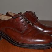 Кожаные мужские туфли.Размер 39й