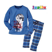 Пижама Lupilu (Германия) трикотаж и байка