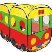 Игровая палатка Автобус и другие модели.