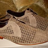 Туфли,замшевые,летние,Carlo Pazolini раз 43,по стельке 28см