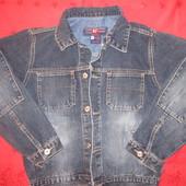 Джинсовая куртка RJ на мальчика, р.152,идеальное состояние
