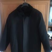 Зимнее мужское пальто 100% кашемира
