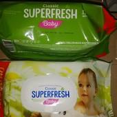 """Влажные салфетки ТМ """"SuperFresh"""" 132 шт./уп."""