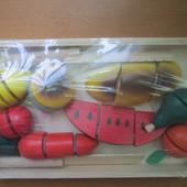 """Шикарный набор """"Разрезанные продукты"""" от ТМ """"Мир деревянных игрушек"""""""