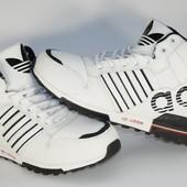 Высокие, зимние, теплые мужские кроссовки Adidas Адидас