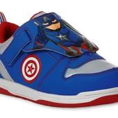Кроссовки Captain America от Marvel. Размер 27, 5 - 35. Оригинал.