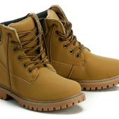 Утепленные деми ботинки в наличии Abbi