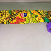 Скейтборд penny, пенни борд, пенни cruiser stereo vinyl print, с принтом