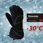 Лыжные мужские перчатки Thinsulate80 р. М/l Igloos Сша