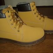 Мужские ботинки 41р новые