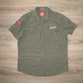 Рубашка Superdry Raw Osaka Army Shirt