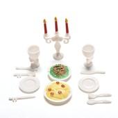 Набор Посуда с едой для Барби barbie Монстер хай minster high Лол Lol и других кукол.