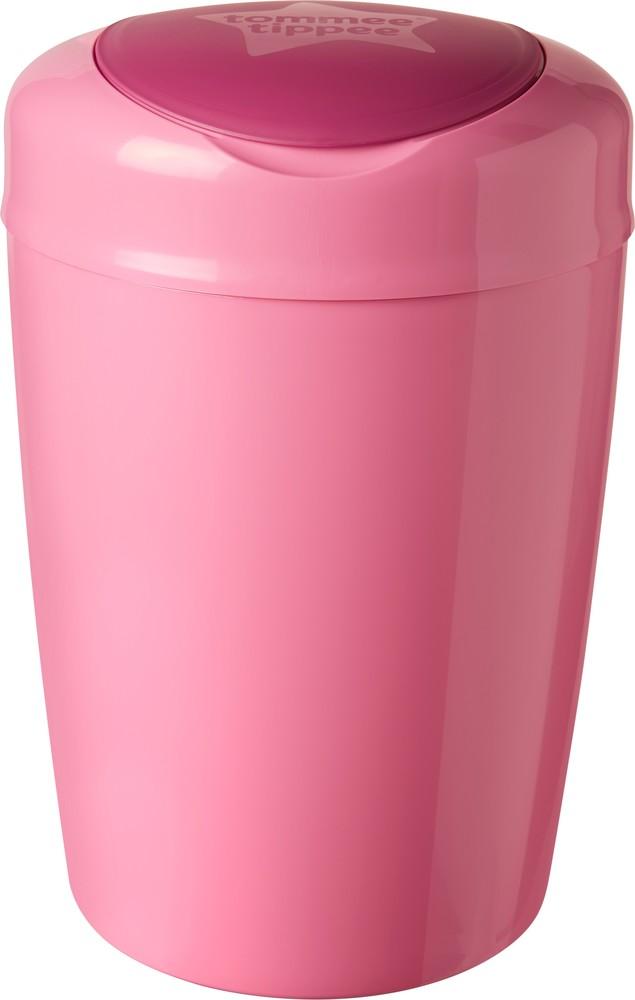 Накопитель подгузников Sangenic Simplee Tommee Tippee 87008801 Великобритания розовый 12116551 фото №1