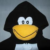 Карнавальный костюм-пижама Пингвин,флис,р.XL.