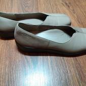 Кожаные туфли Hotter 7р. 26.5 см.