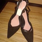 Отличные новые кожанные туфли делового стиля от Limited Collection by M&S,p.38