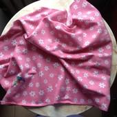 Плед покрывало одеяло флисовое 73*100 cм