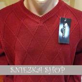 Свитер мужской вязаный Турция, разные цвета
