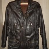 куртка кожаная мужская большой размер 4XL