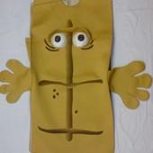 Эффектный маскарадный костюм бренд телеканала КИхКА