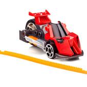 Mega Bloks Hot Wheels Конструктор Красный гоночный автомобиль outrageous red dragster 91704