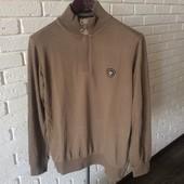 Мужской свитер M коричневый