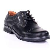 Туфли Мужские Кожаные (009ч)