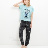 Женская трикотажная пижама ( S,М,L) New Look