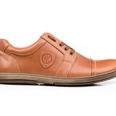 Туфли Мужские Кожаные (152р)
