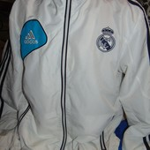 Спортивная оригинал мастерка кофта футбольная Adidas  Ф.к Реал .s-m