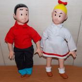 Фирменные куклы Wiske  и Suske