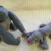 Обезьянка и пума из Макдональса - 2 игрушки одним лотом