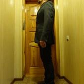 Легкий бесподкладочный пиджак  Humberto tailored  for excellence 52 р.