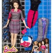 Набор кукла и одежда Barbie Fashionistas doll & fashions chic with a wink фашионистас модницы неко