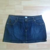 Джинсовая юбка L-XL