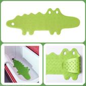 Детская безопасность Ikea коврик в ванну, крокодил зеленый Патруль