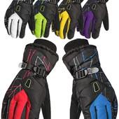 Мужские горнолыжные перчатки Kineed (перчатки лыжные): 6 цветов