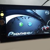 2din магнитола pioneer pi-7023 gps карта памяти 8гб и пульт на руль в подарок!