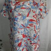 Блуза с принтом бабочки peacocks