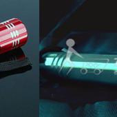 Подводный фонарь светодиодный 9 LED очень яркий!+фонарик с линзой