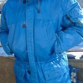 Фирменная курточка зимняя деми бренд Tenson.Швеция .хл.2хл