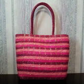 Женская сумка. натуральная соломка.