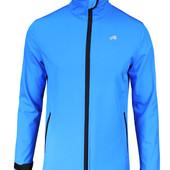 Спортивная куртка с мембраной и отражателями,с виндстоппером синий