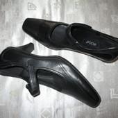 ECCO оригинал новые кожаные туфли
